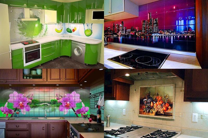 Фотоплитка в интерьере: фотоидеи для кухни и ванной