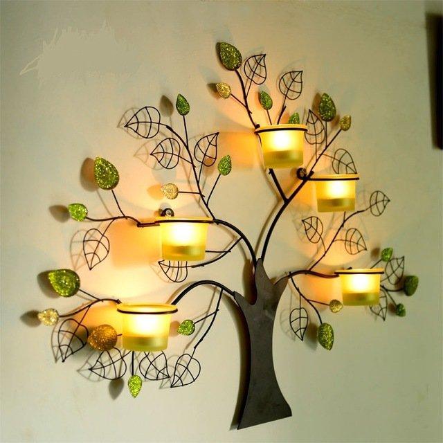 Настенное панно со свечамиZH0827-N110