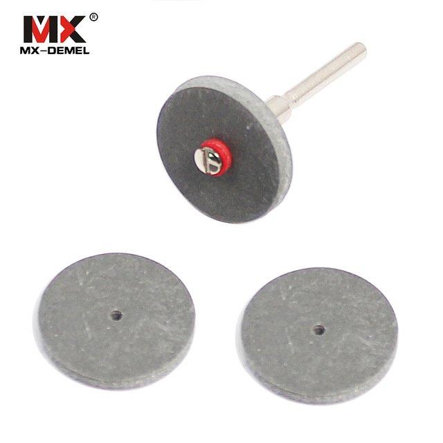 Резиновые полировочные диски MX-DEMEL (22*3 мм)3 шт.