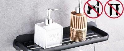 5 шикарных вещиц для ванной... на присосках с AliExpress