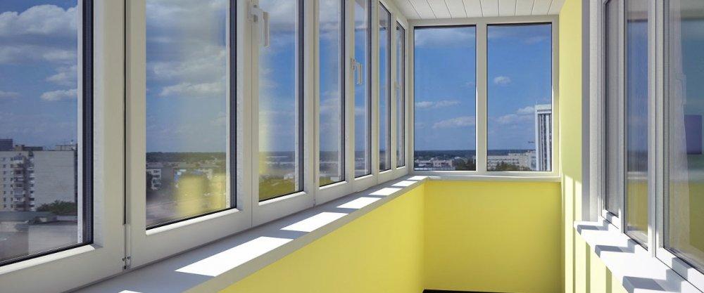 Остекление балконов, способы остекления балконов, остеклить .