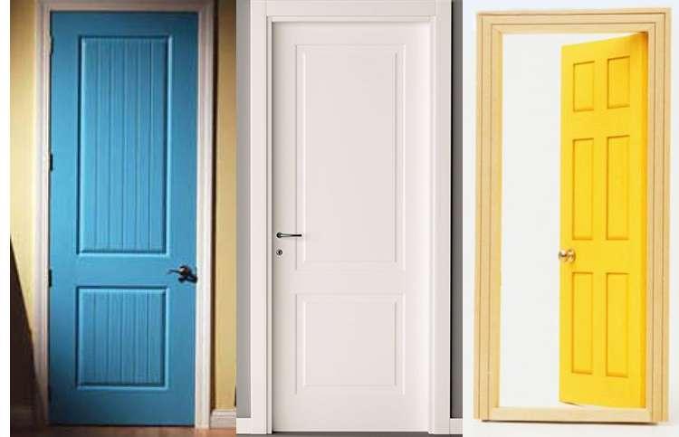 Цвет межкомнатных дверей фото 1
