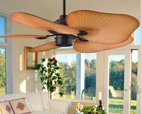 Преимущества установки потолочного вентилятора
