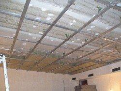 шумо и звукоизоляция потолка в квартире
