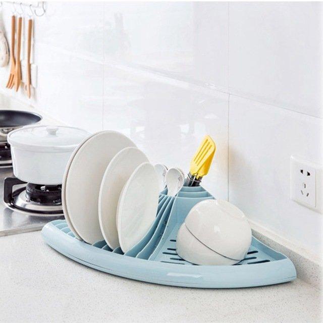 Угловая пластиковая сушилка для чистой посудыUrijk