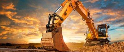 Экскаваторы – применение на строительной площадке