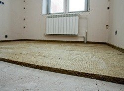 шумоизоляция пола в квартире