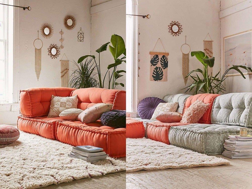 Мягкая мебель для гостиной: 10 идей интерьера фото 07-03
