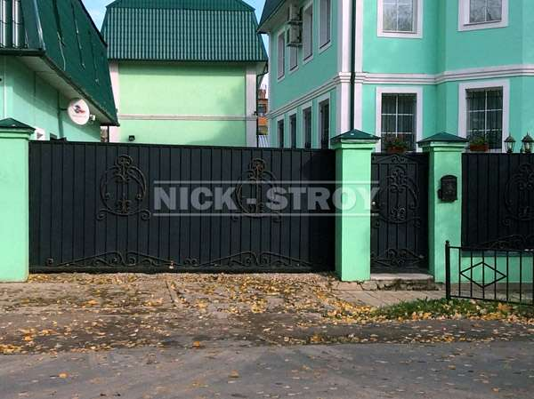 Продажа откатных ворот в Москве и Королеве