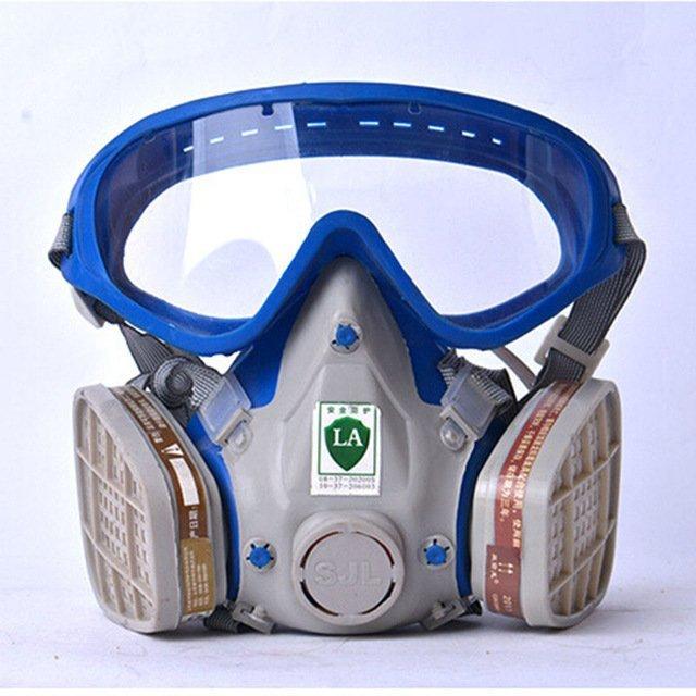 Противогаз с очками для защиты органов дыхания CCGK