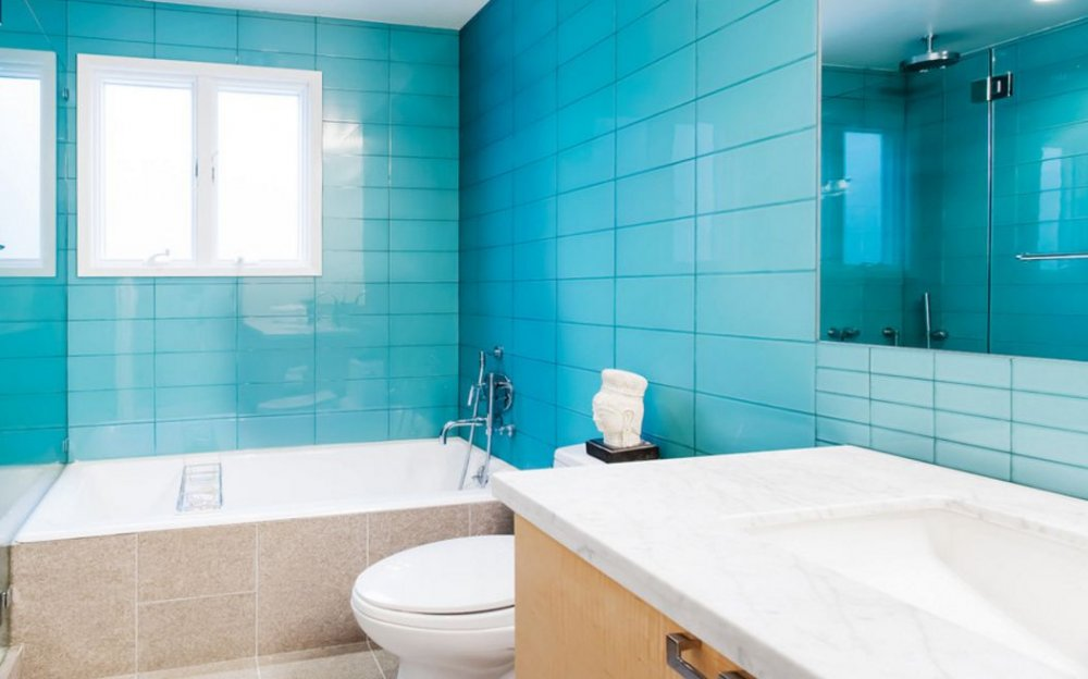 Как выбрать цвет плитки в ванну