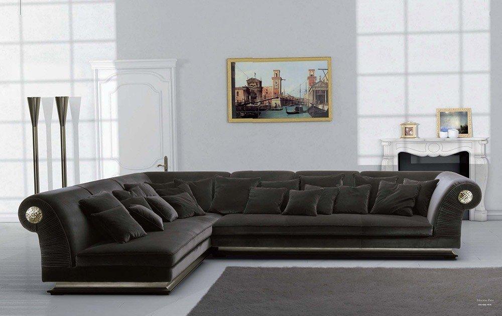Мягкая мебель для гостиной: 10 идей интерьера фото 08-04