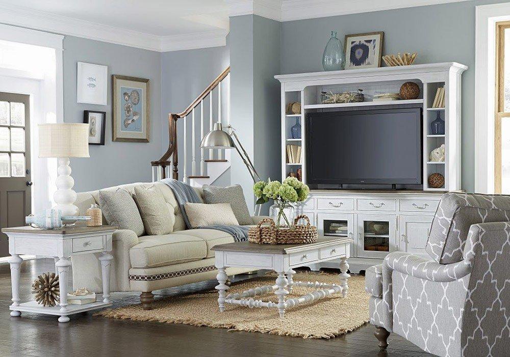 Мягкая мебель для гостиной: 10 идей интерьера фото 04-02