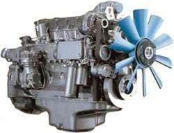 Двигатель дизельной электростанции