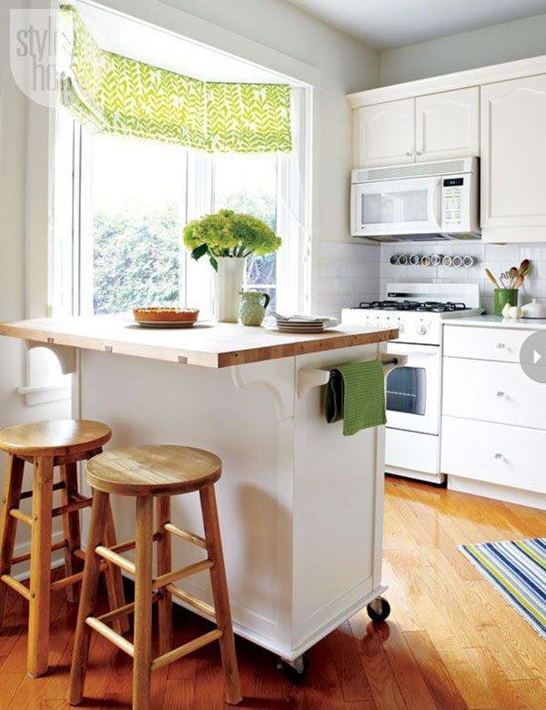 ТОП-10 идей для маленькой кухни фото 4