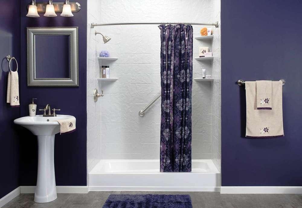 Чем отделать стены в ванной фото 6