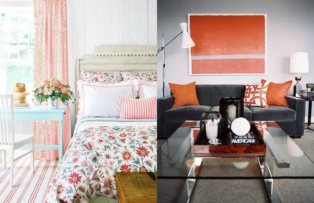 Декоративные подушки в интерьере разных стилей