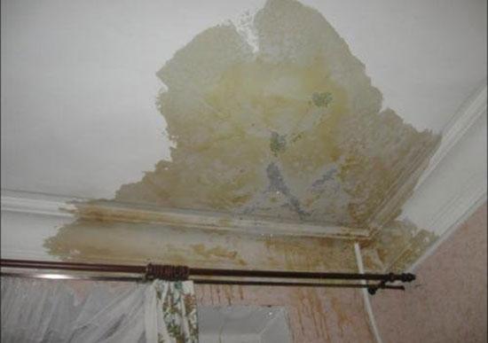 Затопили квартиру