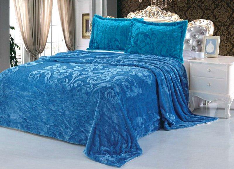 на-кровать-из-искуственного-меха-василькового-цвета-производитель-Танго-Китай