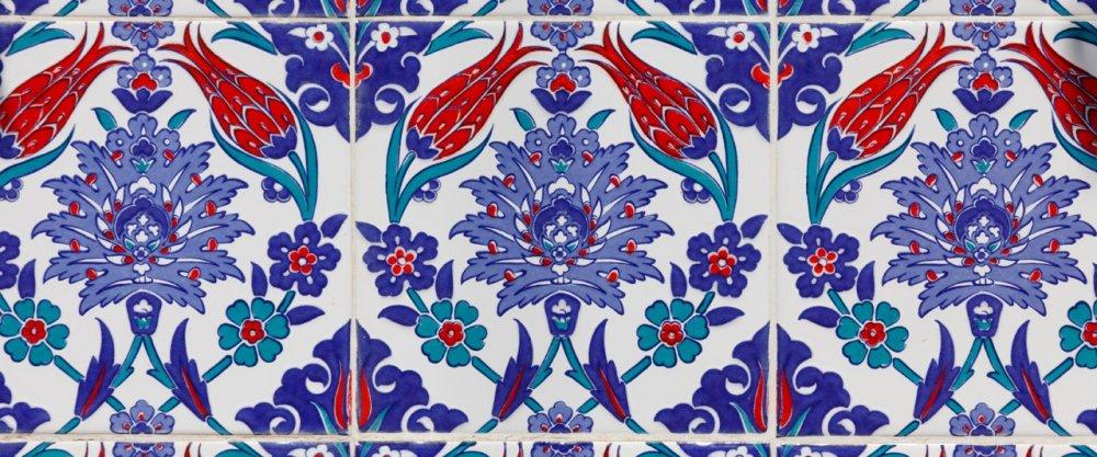 Применение керамической плитки в восточном стиле
