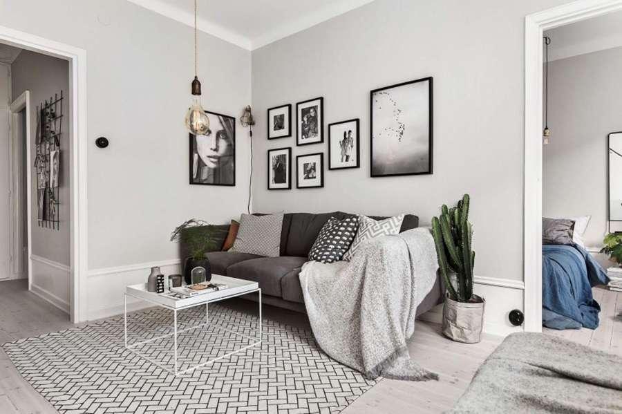 Скандинавский стиль в интерьере любит открытые пространства