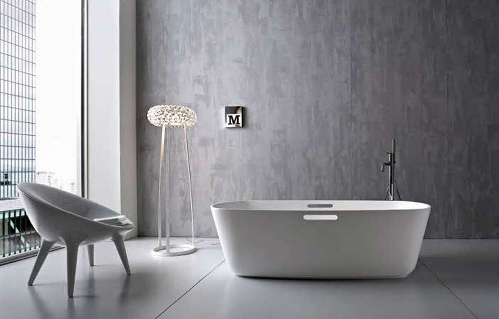 Чем отделать стены в ванной фото 10