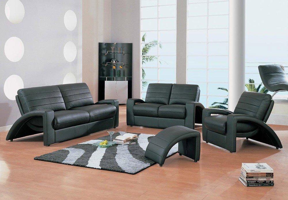 Мягкая мебель для гостиной: 10 идей интерьера фото 08-02