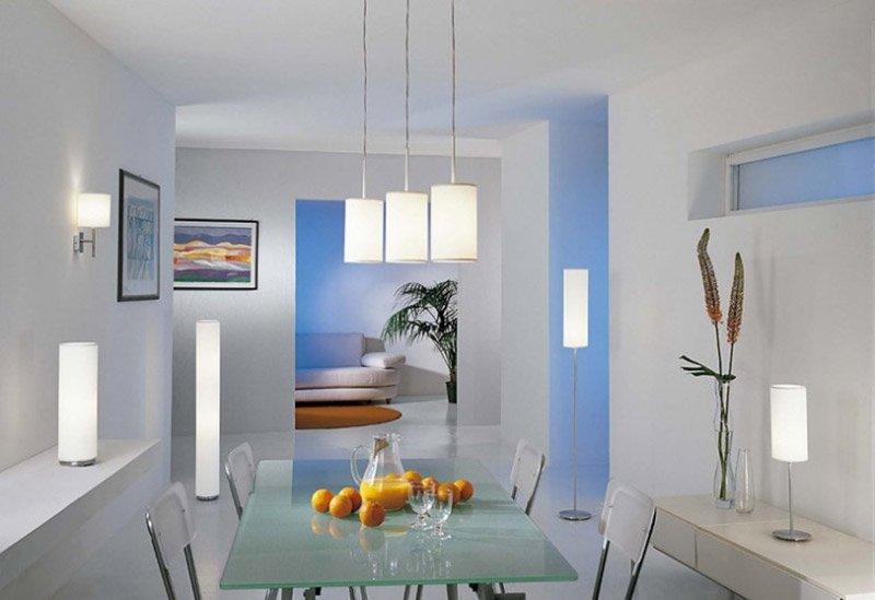 Хорошее освещение - половина успеха при создании уютной комнаты