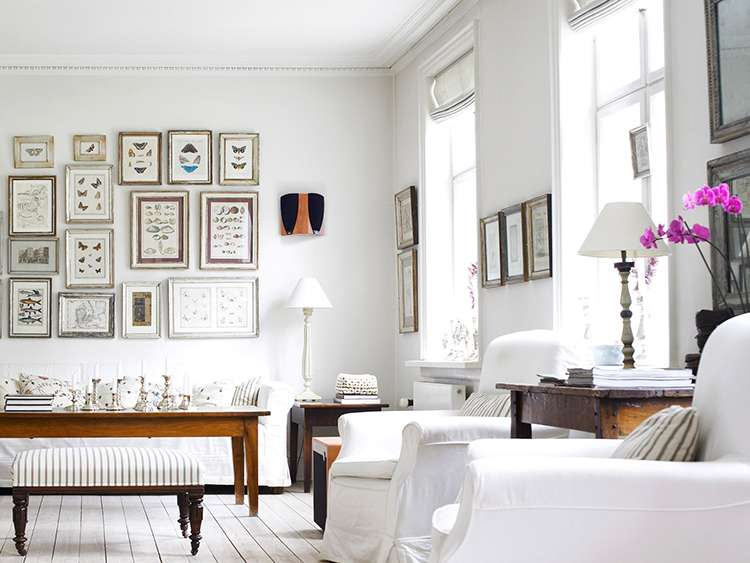 Белый цвет в интерьере фото 14