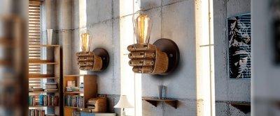 ТОП-5 креативных настенных светильников от AliExpress