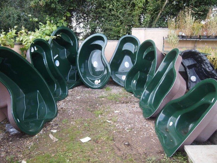 Готовые формы для декоративного пруда