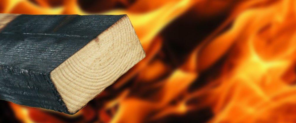 Огнестойкость древесины, огнезащита древесины