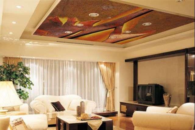 Тканевые потолки: плюсы и минусы