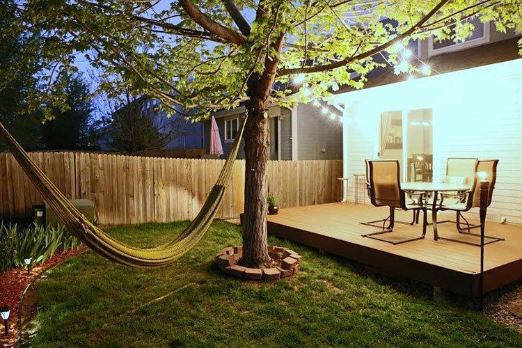 Площадка для отдыха на даче фото 2