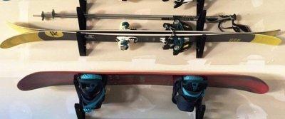 5 идей хранения лыж, гитар, мячей от AliExpress