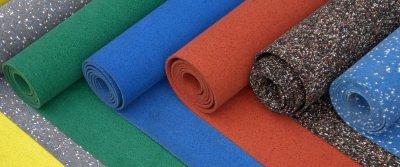 Напольные покрытия для спортзалов