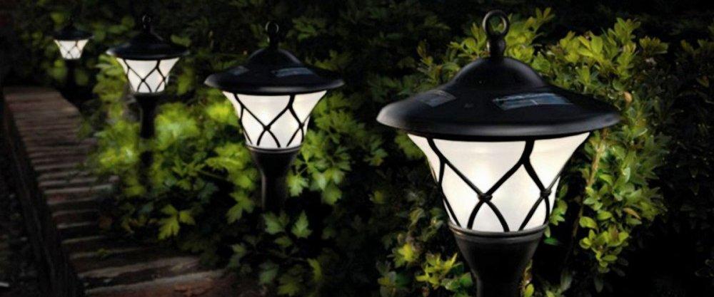 ТОП-10 садовых светильников от AliExpress – готовимся к даче!