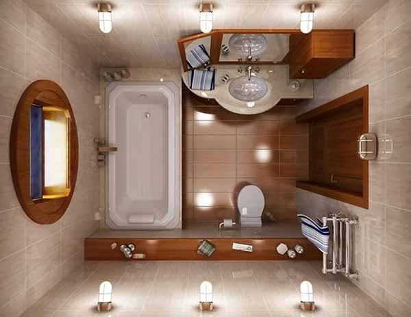 Как сделать маленькую ванну визуально больше фото 1