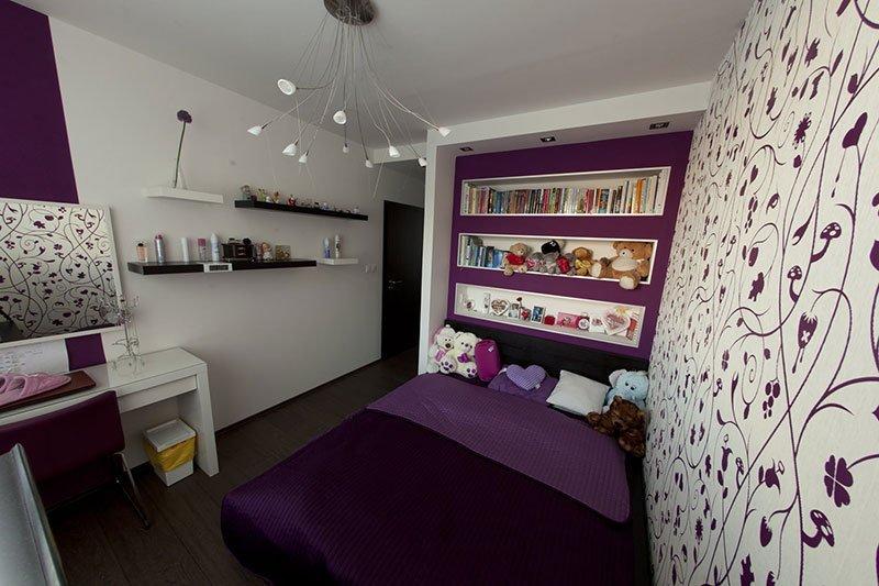 Дизайн узкой комнаты фото 4
