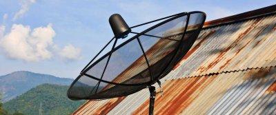 Как подключить телевидение на даче