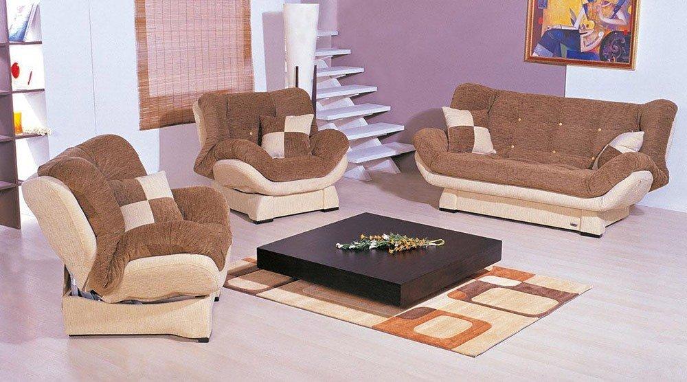 Мягкая мебель для гостиной: 10 идей интерьера фото 06-05