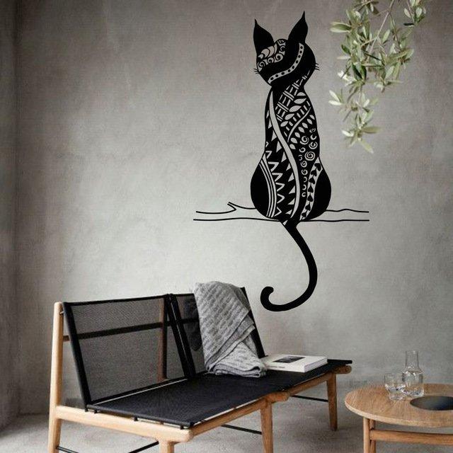 Настенный орнамент КотикYOYOYU ART HOME DECOR