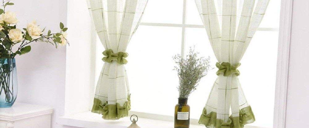 5 изумительных стильных штор для кухни от AliExpress