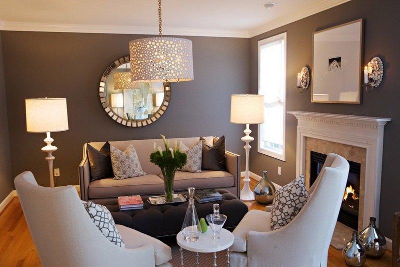 Люстры и лампы как украшение интерьера