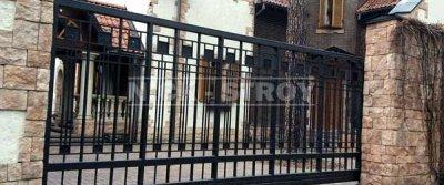Компания Ник-Строй - производитель откатных ворот в Москве и Королеве