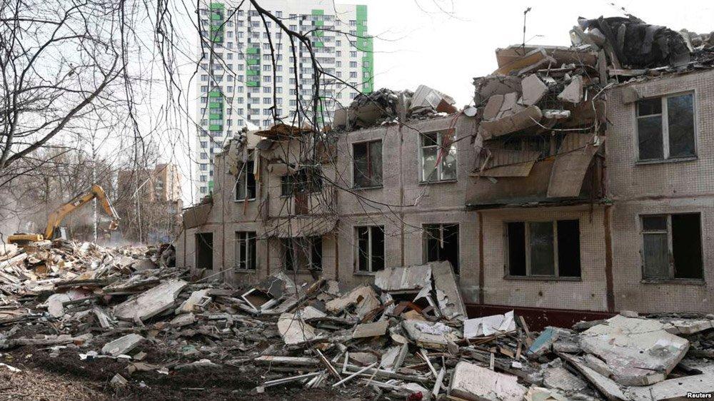 Реновация пятиэтажек в Москве фото 2