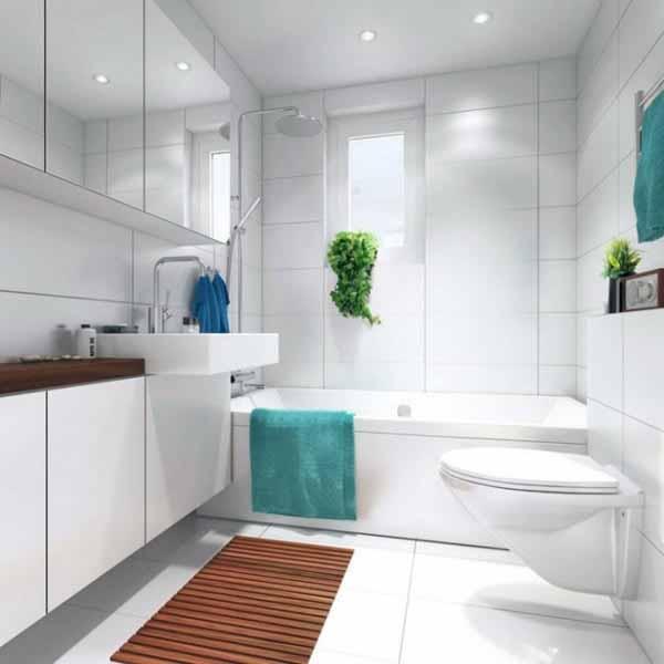 Как сделать маленькую ванну визуально больше фото 14