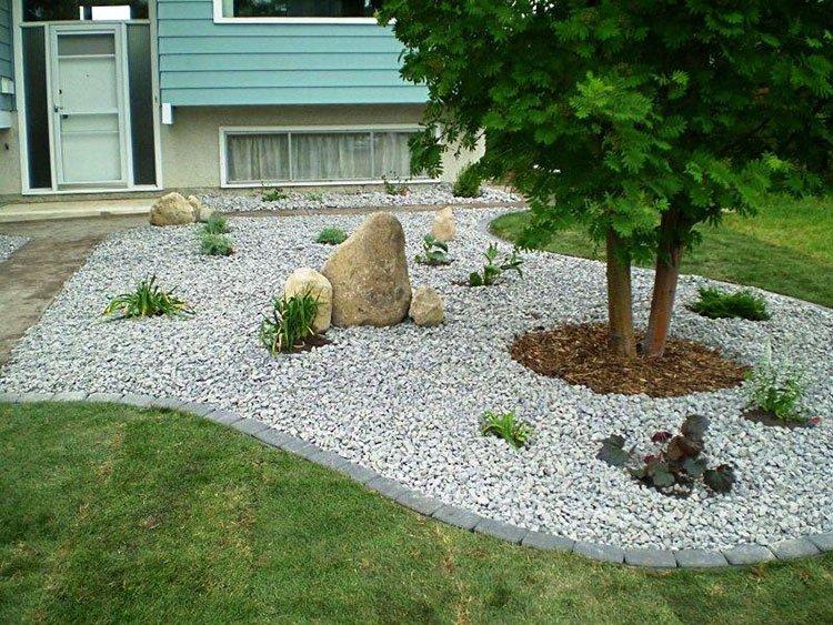 Сад камней на даче фото 4