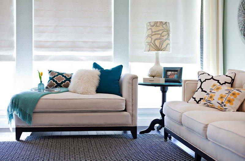 Диванные подушки - украшение интерьера