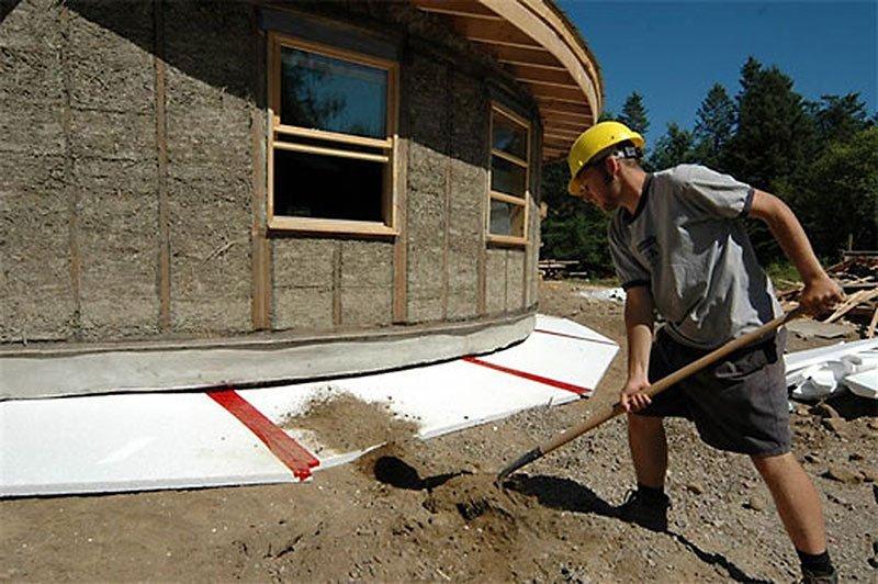 Особенности строительства домов на слабом грунте